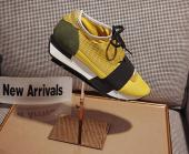 men balenciaga runner chaussures size 35-44 gold